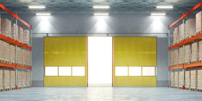 Commercial Glass Roll Up Doors - My Garage Door Repairman