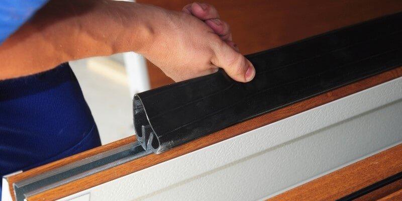 Garage Door Bottom Track Replacement My Garage Door Repairman