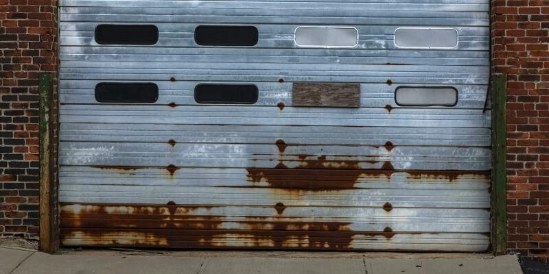 Garage Door Rust My Garage Door Repairman