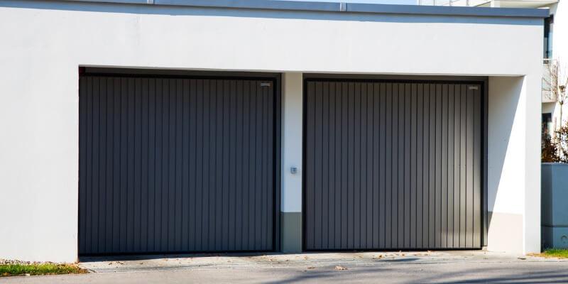 Modern Black Garage Doors - My Garage Door Repairman