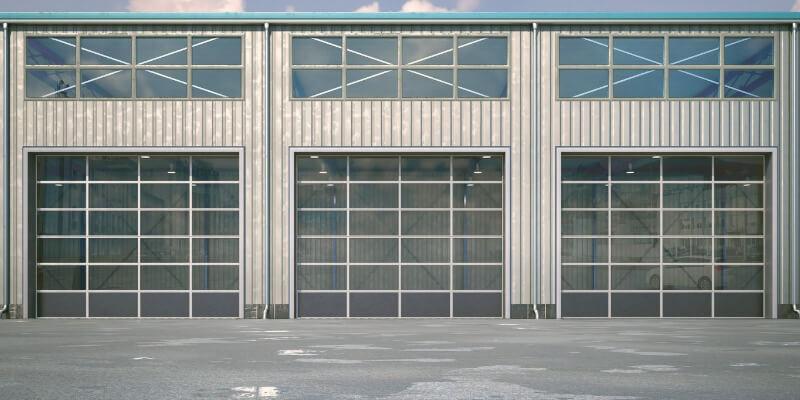commercial glass garage doors - My Garage Door Repairman